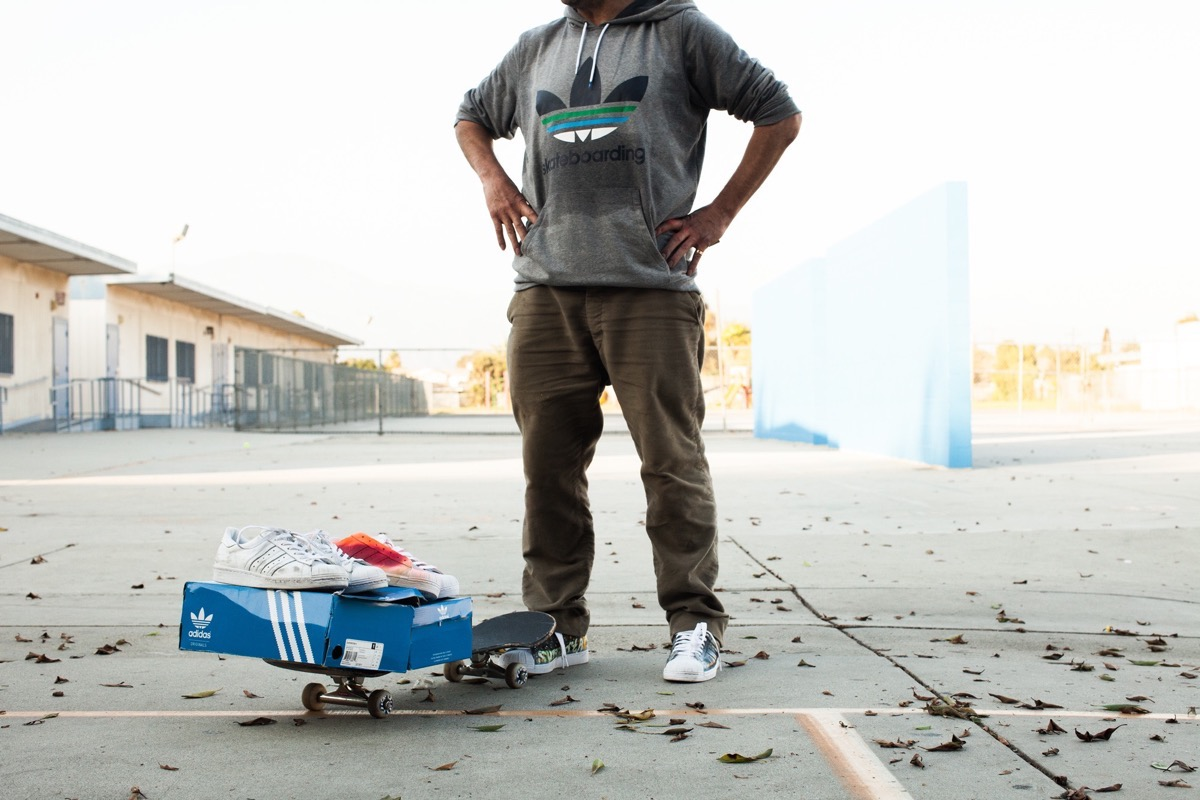 Adidas Originals Collaborates with Gonz and NIGO
