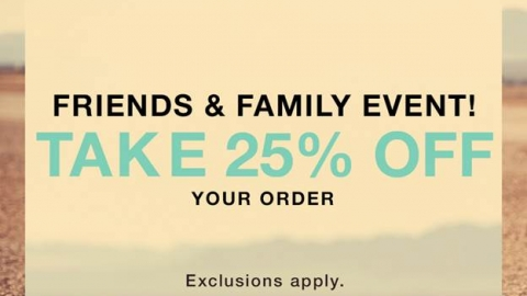 Shopbop's Friends and Family Event!