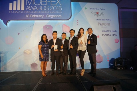 Mob-Ex Awards 2016 Singapore by Marketing Interactive