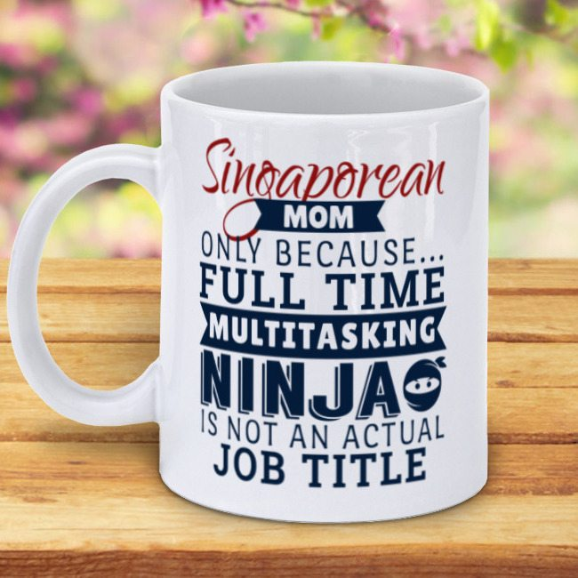 singaporean mom mug