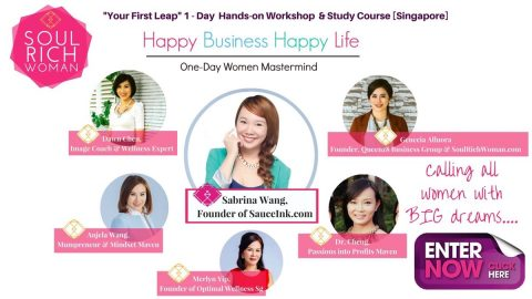 HAPPY BUSINESS HAPPY LIFE (1-Day Women Mastermind)