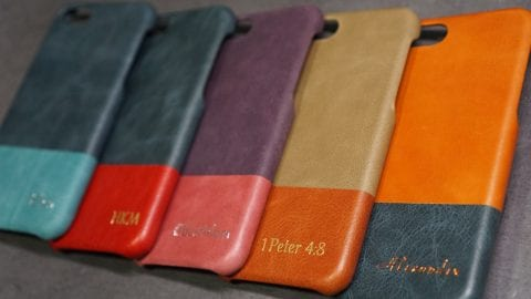 Kulör Cases – leather phone cases uniquely personalised with love
