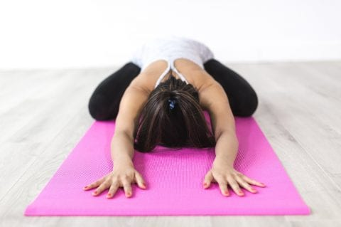 Try these 4 easy yoga poses for a healthier heart!