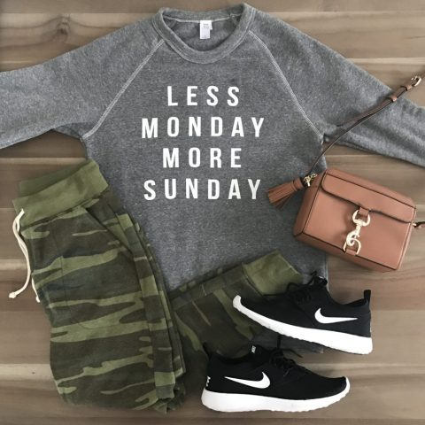 Outfit for each day of the week