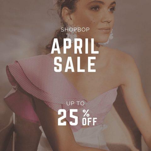The BIG Shopbop sales for April!