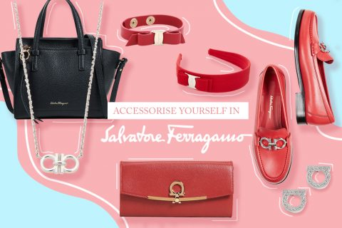 Accessorize yourself in Salvatore Ferragamo