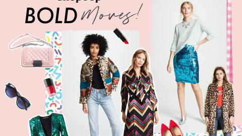 Bold moves at Shopbop