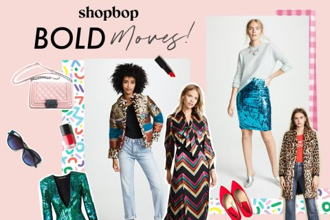 Bold moves at Shopbop