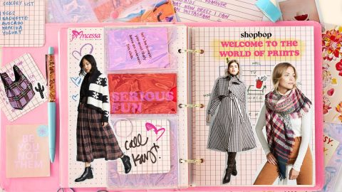 Shopbop's fall checklist: Welcome to the world of prints