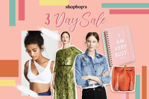 Shopbop's 3-day sale: Buy these fashion items before stocks run out!