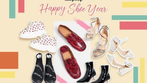 Shopbop feature: Happy shoe year