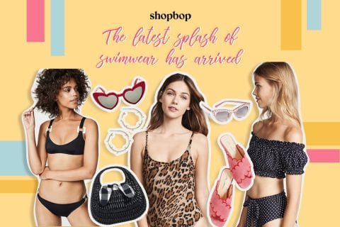 Shopbop feature: The latest splash of swimwear has arrived