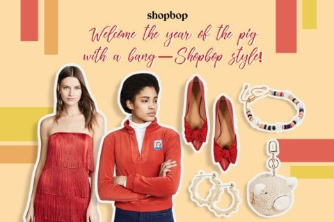 Welcome the year of the pig with a bang—Shopbop style!