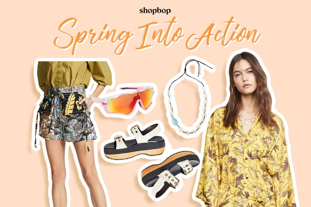 Shopbop sping into action shopping