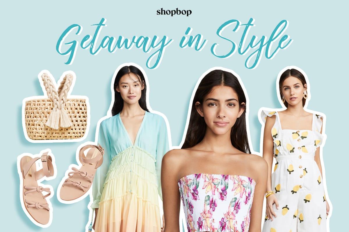 shopbop getaway in style fashion