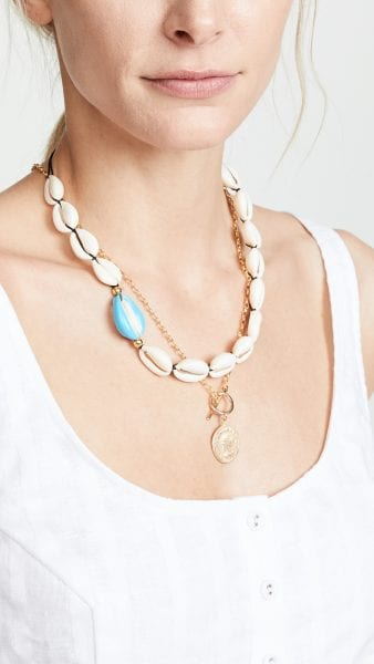 Maison Irem Ocracoke Full Shell Necklace shopbop