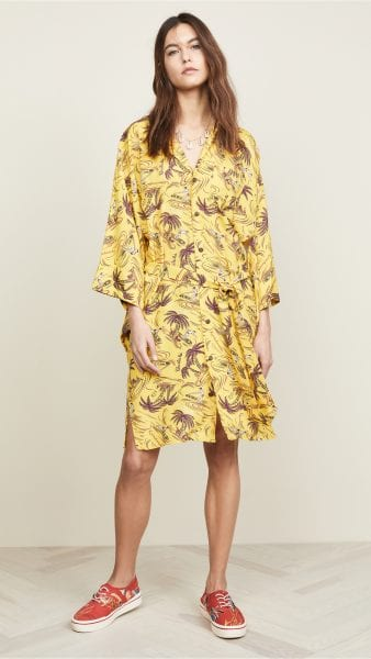 r13 hawaiian kimono dress shopbop spring fashion