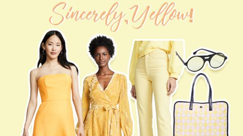 Sincerely, Yellow!