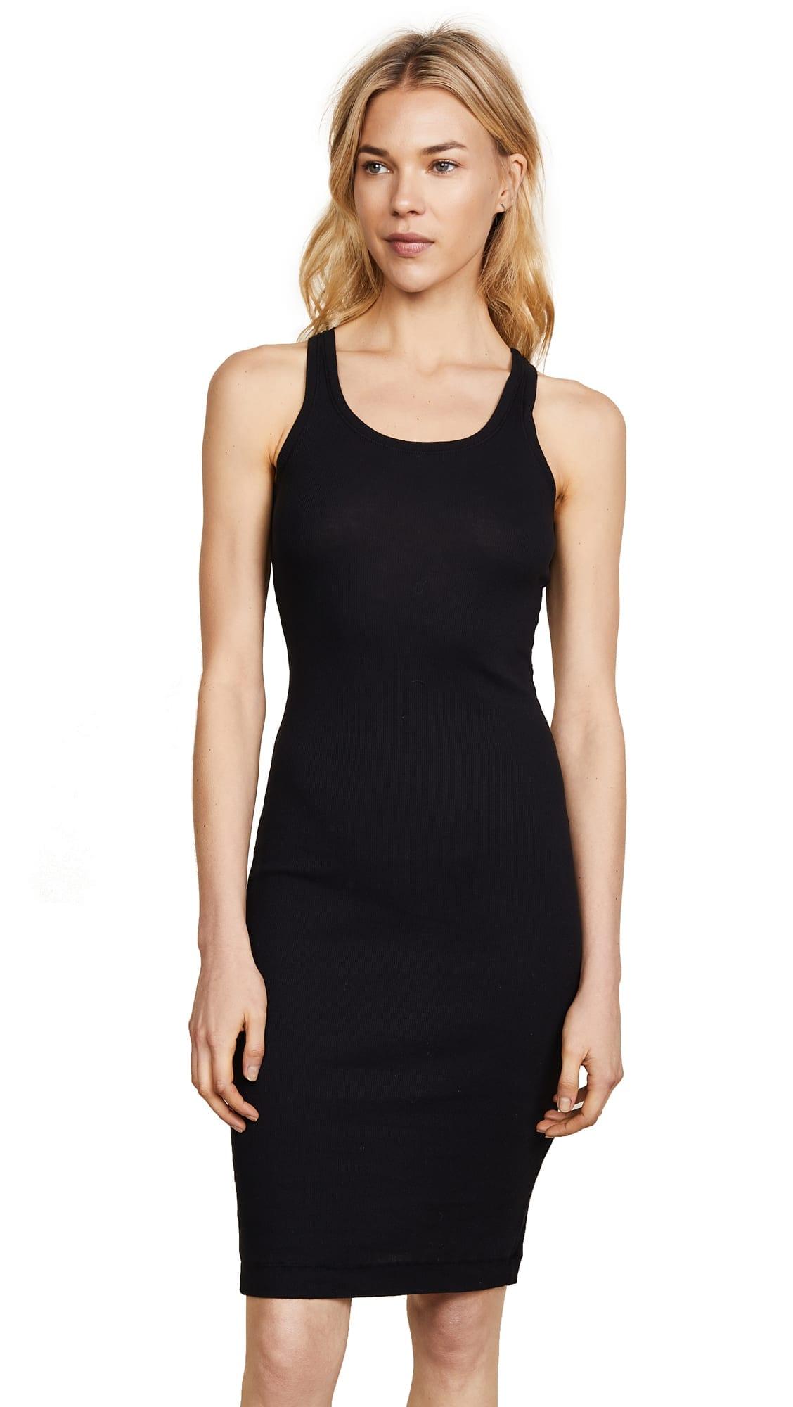 shopbop Splendid 2x1 Racer Back Dress
