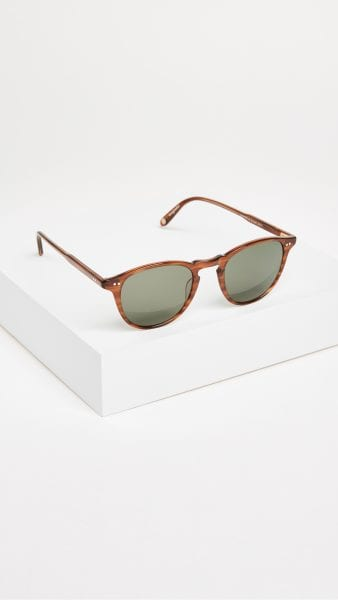 shopbop Garrett Leight Hampton Polar Sunglasses