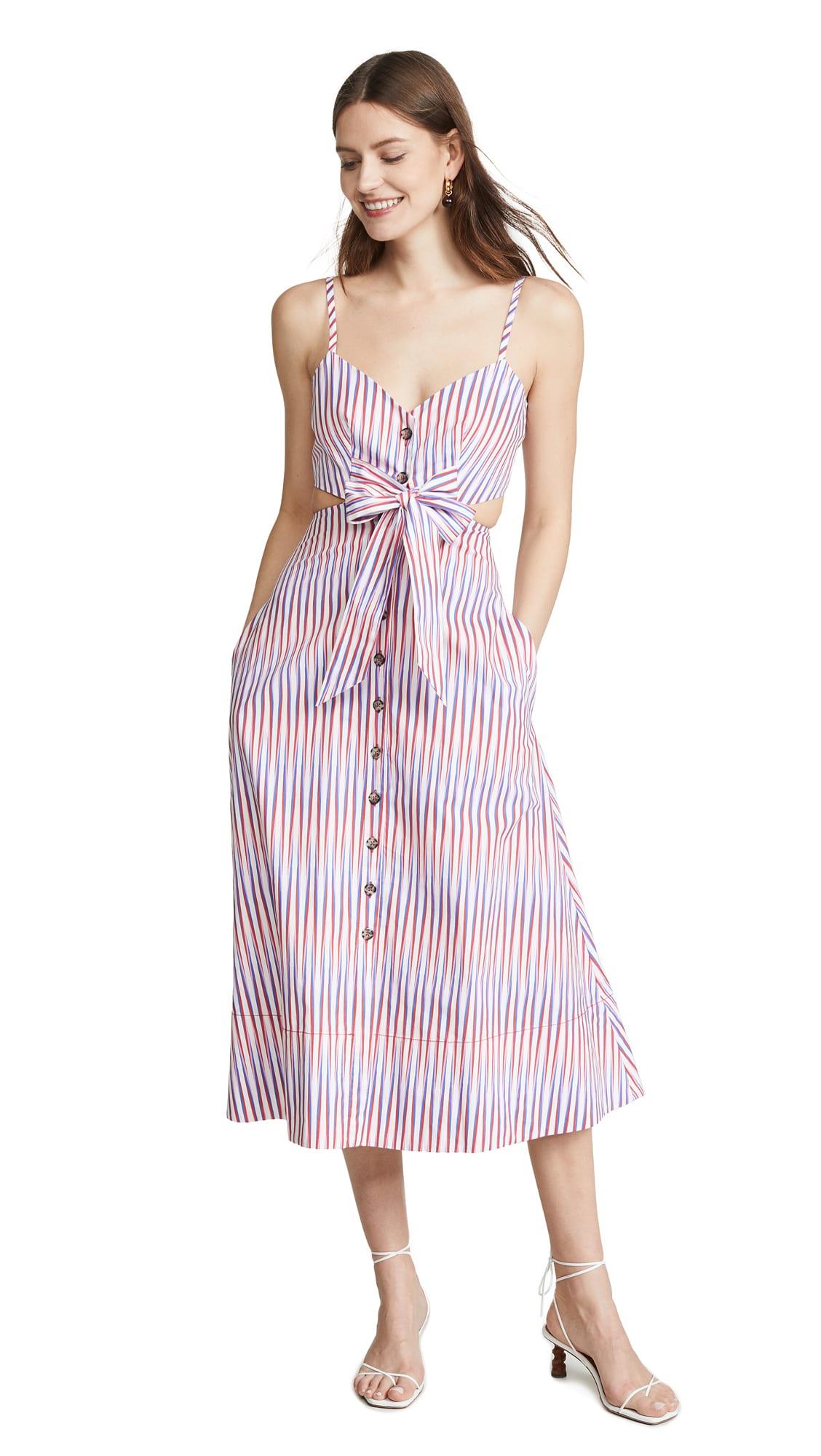 Saloni Lea Cutout B Dress shopbop