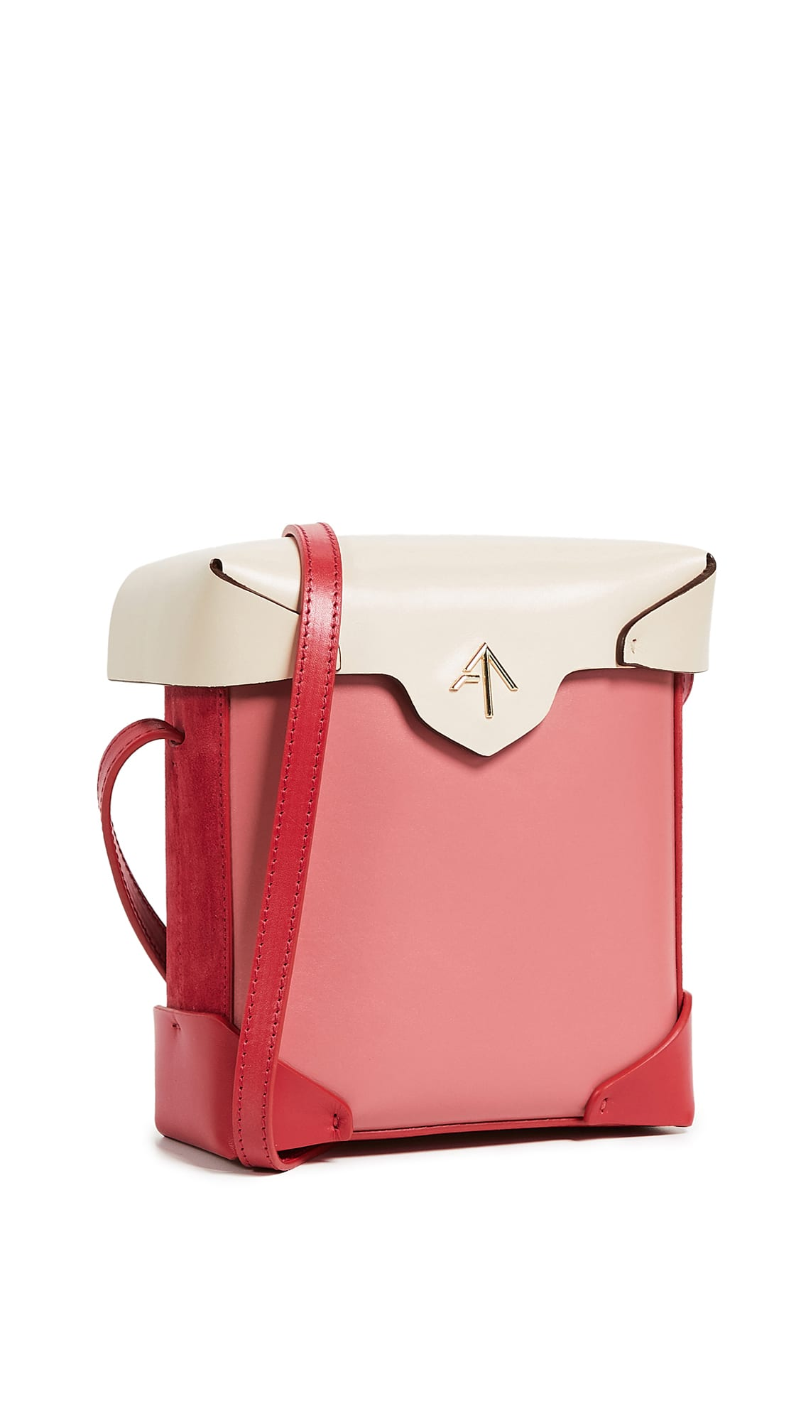 shopbop MANU Atelier Mini Pristine Combo Box Bag