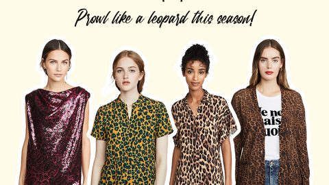 Prowl like a leopard this season!