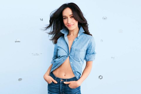 Inspired by Maggie Q