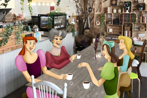 Cinderella, Chapter 5: Family bonding at Enchanted Cafe