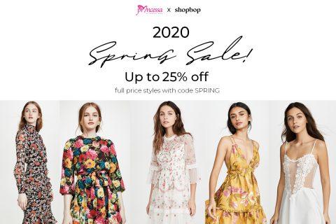 Shopbop's 2020 Spring SALE!